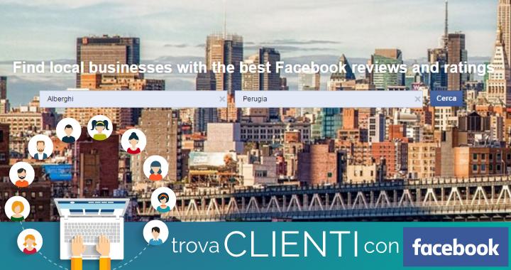 facebook professional services un motore di ricerca per trovare imprese locali